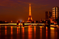 Eiffel tower at night_1507